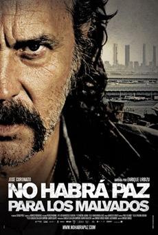 Poster No habra paz para los malvados