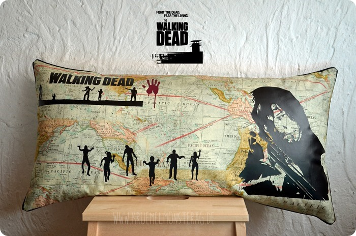 TWD (01) The Walking Dead Kissen #twd