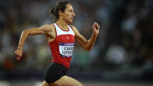 Алптекин Аслы - турецкая легкоатлетка