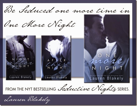 One More Night release day launch 2
