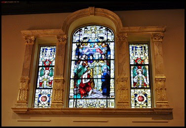 06e - Cathedral Basilica - inside Stained Glass Windows