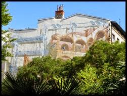 a wall mural