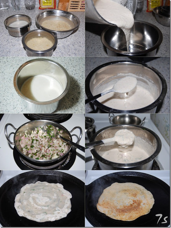 Whole wheat grain dosai process