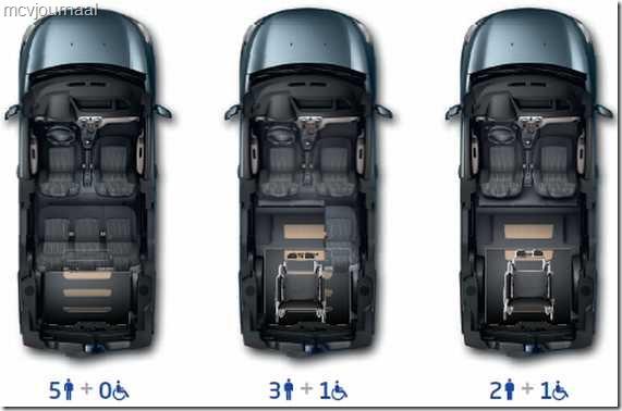 Dacia Dokker als rolstoelvervoer 05
