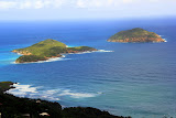 Looking Out On Inner And Outer Brass Islands - St. Thomas, USVI