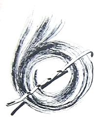 Anti-clockwise pin curl - Pin Curls 101 | Lavender & Twill
