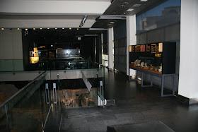 Interior del Centro Arqueológico de L'Almoina. Valencia (España).