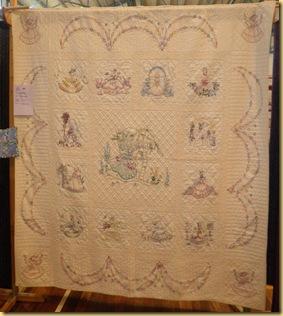 Embroidered ladies Maureen F