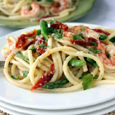 Dinner for President Obama: Michelle's Shrimp With Linguine