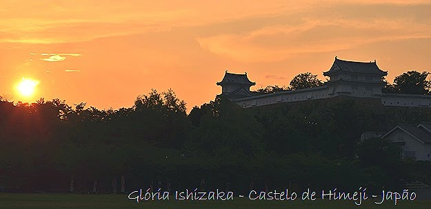 Glória Ishizaka - Himeji - JP-2014 -por do sol