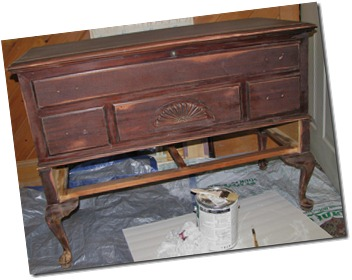 Lane Cedar chests BEFORE