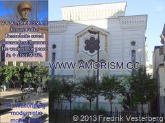 DSC09042.JPG Obama Synagogan. Kollage med Folke Bernadotte och Wallenberg monument. Med amorism