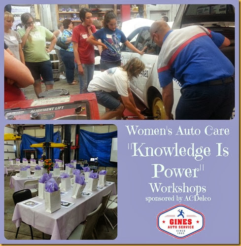 knowledge is power auto workshop