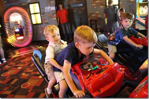 boys at arcade