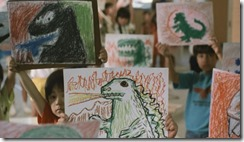 Godzilla vs Biollante Children's Drawings
