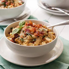 Gluten Free Corn and Bacon Pasta