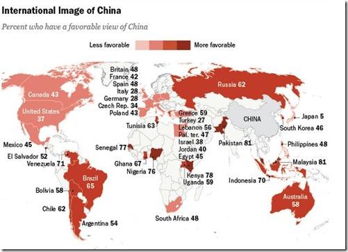 中国が好きな国