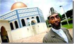 Sinclair Hejazi Abdus-Salaam, now retired in Boca Raton, Fla., prayed at the trade center.