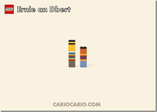 Lego ernie and ber