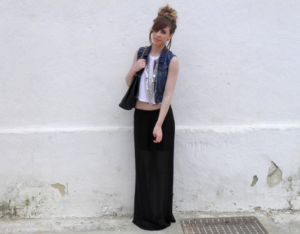 sheer black maxi skirt 3