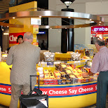 cheese booth at schiphol airport in London, London City of, United Kingdom