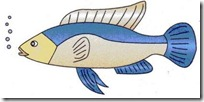 peces clipart blogcolorear (7)