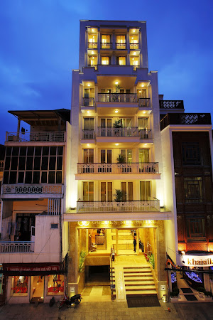 Cazare Vietnam: Intrare Hotel Golden Silk Hanoi