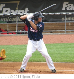 'Travis d'Arnaud At Bat' photo (c) 2011, tjperr - license: http://creativecommons.org/licenses/by-sa/2.0/