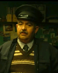Actores en papel de policias
