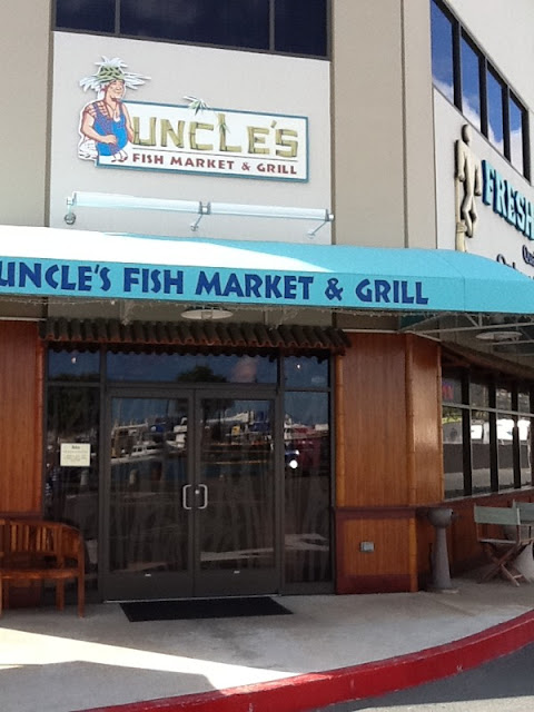 Hawaii uncle 39 s fish market and grill for Uncle s fish market grill