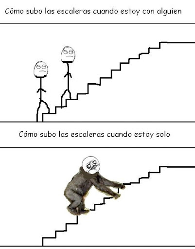 Subir Escaleras