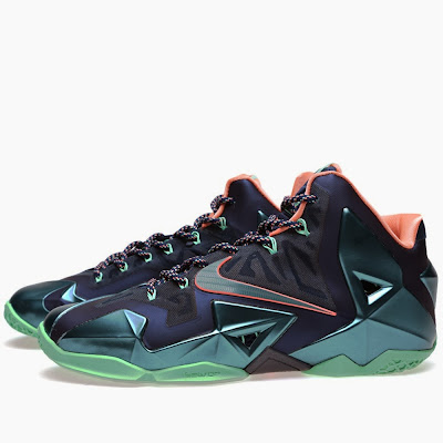 nike lebron 11 gr akron vs miami 11 02 New Photos // Nike LeBron XI Akron vs. Miami