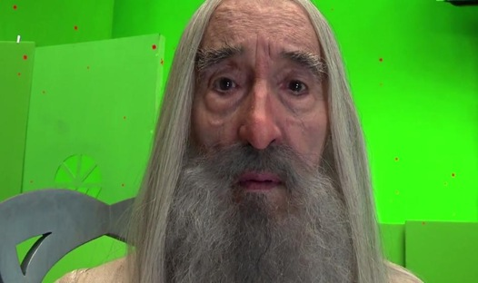Surprised Saruman