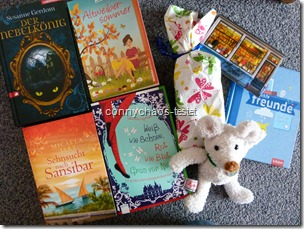 Wanderbuchkiste meine Auswahl