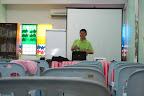 林老师在忙着准备。。