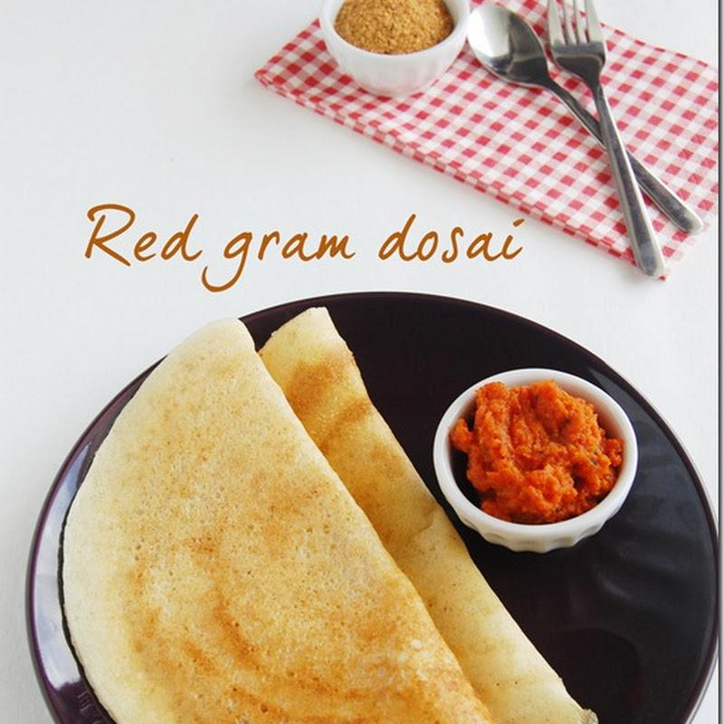 Red gram dosai