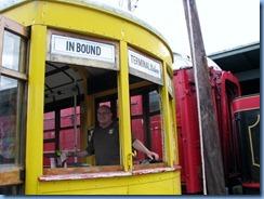 8932 Chattanooga, Tennessee - Chattanooga Choo Choo Trolley - Bill the Conductor