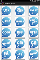 Screenshot of Stickers & Smiley Collections