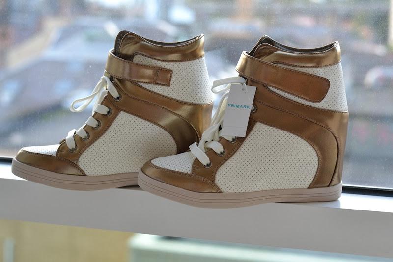 Primark, Primark Wedge Shoes, Wedge Sneakers, Sneakers con Zeppa