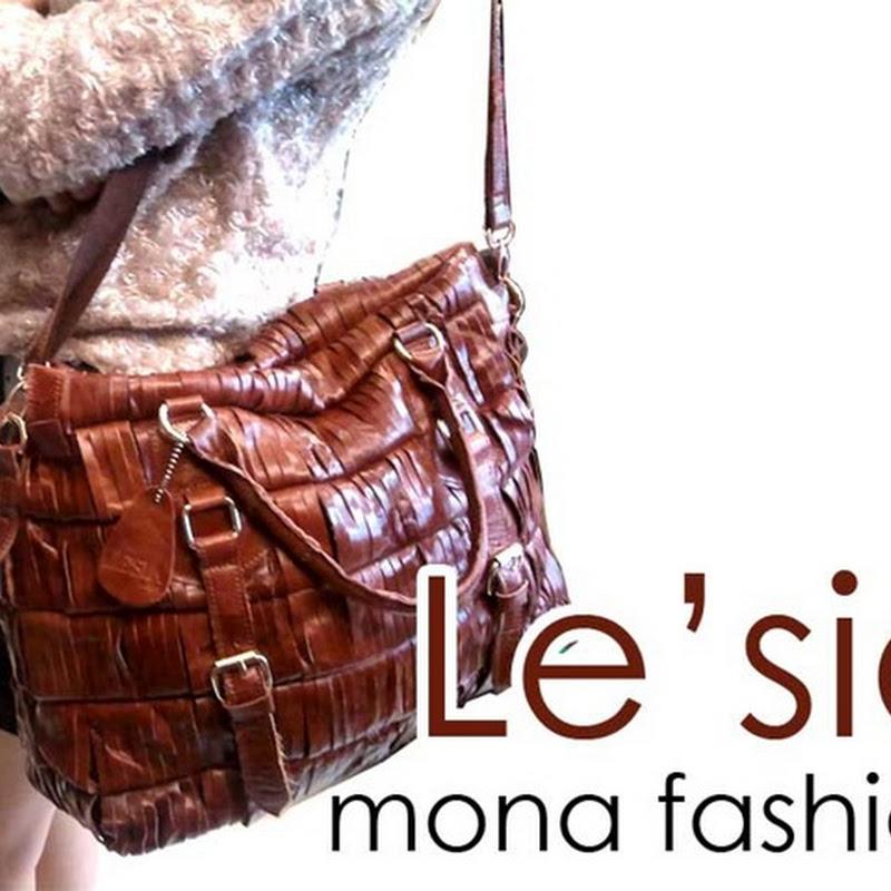 กระเป๋าหนังแท้ Le'Sia F090