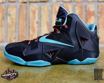 nike lebron 11 gr prohibition 1 01 Nike LeBron 11 Diffused Jade aka Prohibition Release Date