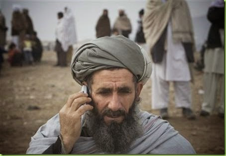 taliban cell service