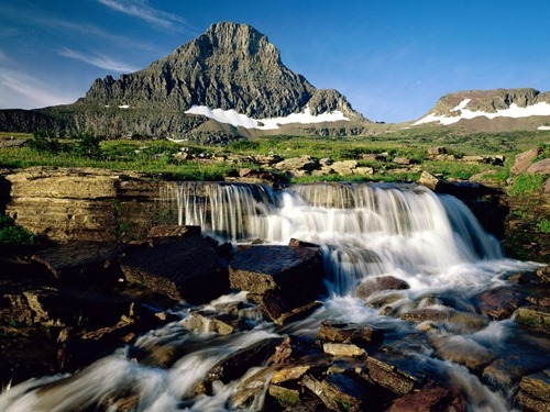 mountain_cascade__glacier_national_park__montana