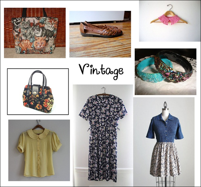 what i want- vintage