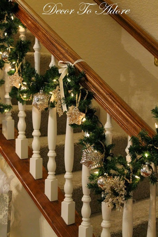 Decor To Adore~ Fireplace mantle 142