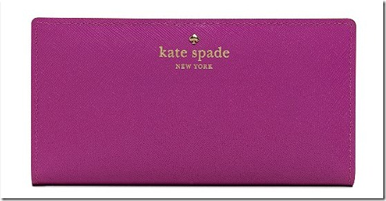 Kate Spade Check holder