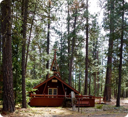 chapel in teh Pines