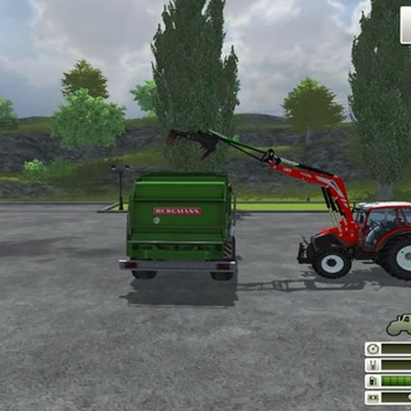 Farming simulator 2013 - Front loader extension v 1.3