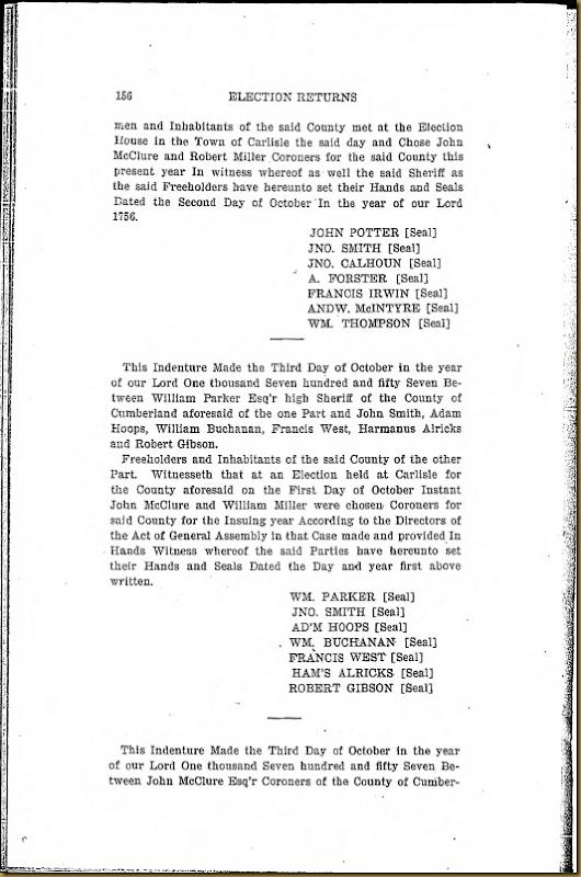 Francis Irwin Series 6 Volume XI Page 156