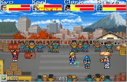 The Ultra Fighters retro indie game (3)